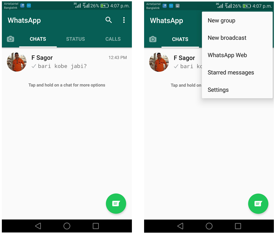 Stop WhatsApp media auto download to Android and iPhone
