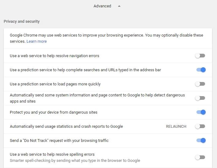 Avoid Google Support Services