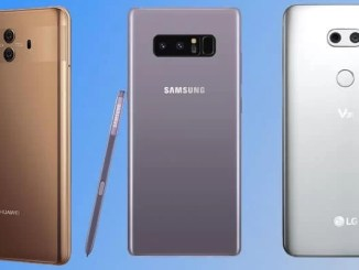 compare mate10 note 8 and lg v30
