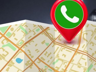 how to send location on whatsapp