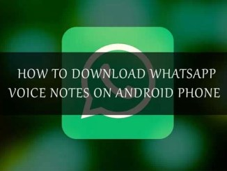 download whatsapp voice note android