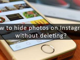 how to hide photos on instagram without deleting