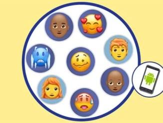 New emojis update 2018