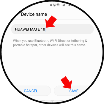 Change Huawei Mate 10 Device Name