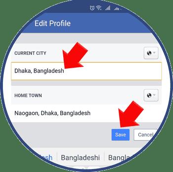 Change Location of Tinder