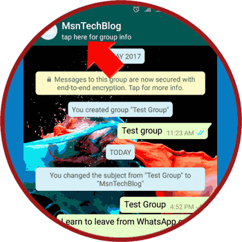 How to leave WhatsApp group chat permanently - MsnTechBlog