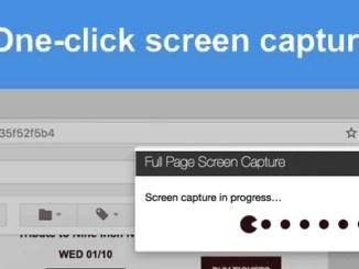 One Click Screen Capture Thumb