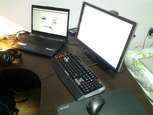 desktop logitech g710+ samsung G700