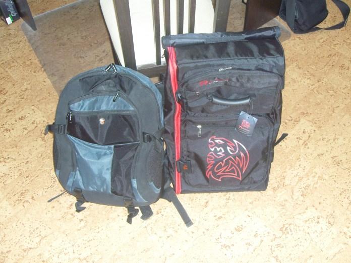 Сравнение размеров Tt Dragon Bag