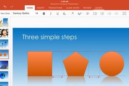 Вышло обновление Office для iPad