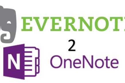 Как перенести свои записи из Evernote в OneNote