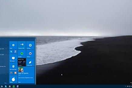 Microsoft выложила сборку 10565 Windows 10 в общий доступ