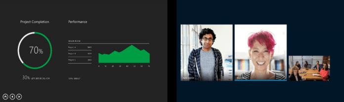 Skype для бизнеса показ презентации