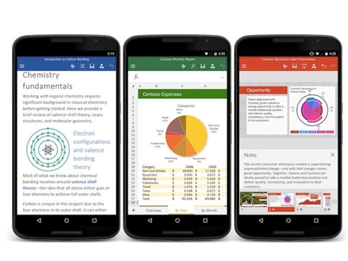 Приложения Office для Android