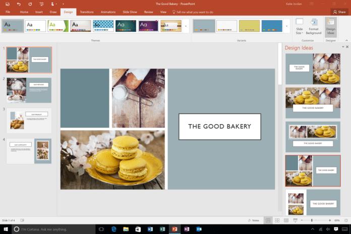 PowerPoint Designer обновление