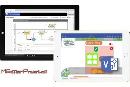 Microsoft выпустила Visio Online Preview и Visio Viewer для iPad