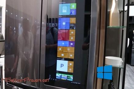 А вы установили обновления Windows 10 ... для холодильника?