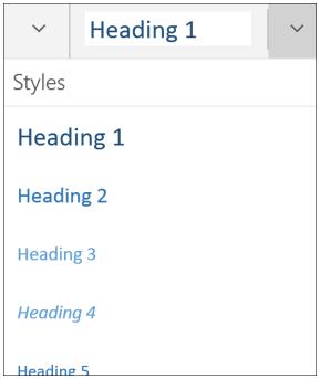 OneNote-styles