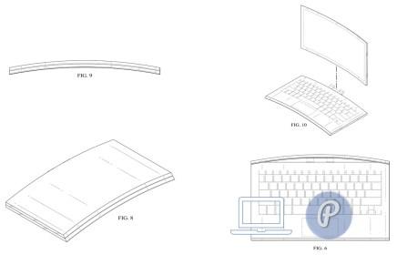 Изогнутый ноутбук — новый патент от Intel. Новый CurvedBook?