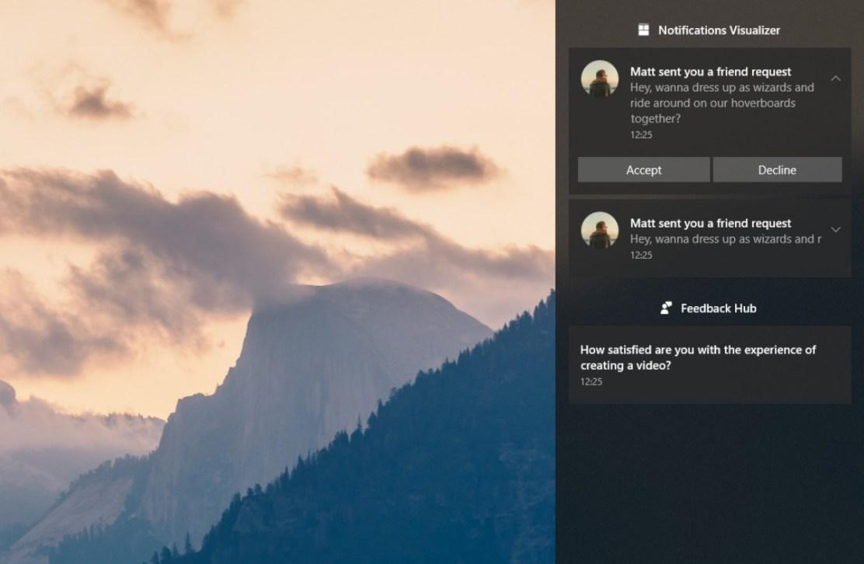 Windows 10 Fall Creators Update новый Центр уведомлений