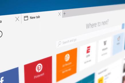 Браузер Microsoft Edge используют более 330 миллионов пользователей Windows 10