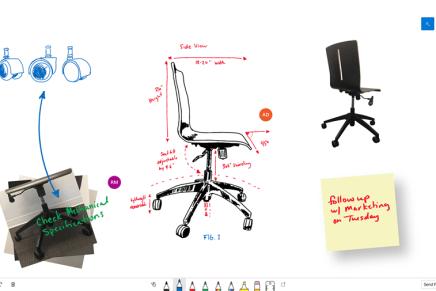 Microsoft выпустила предварительную версию приложения визуализации идей Whiteboard