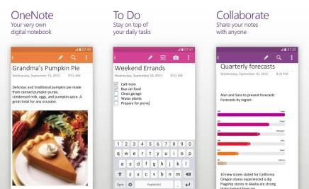 OneNote для Android обзавелся поддержкой Office Lens