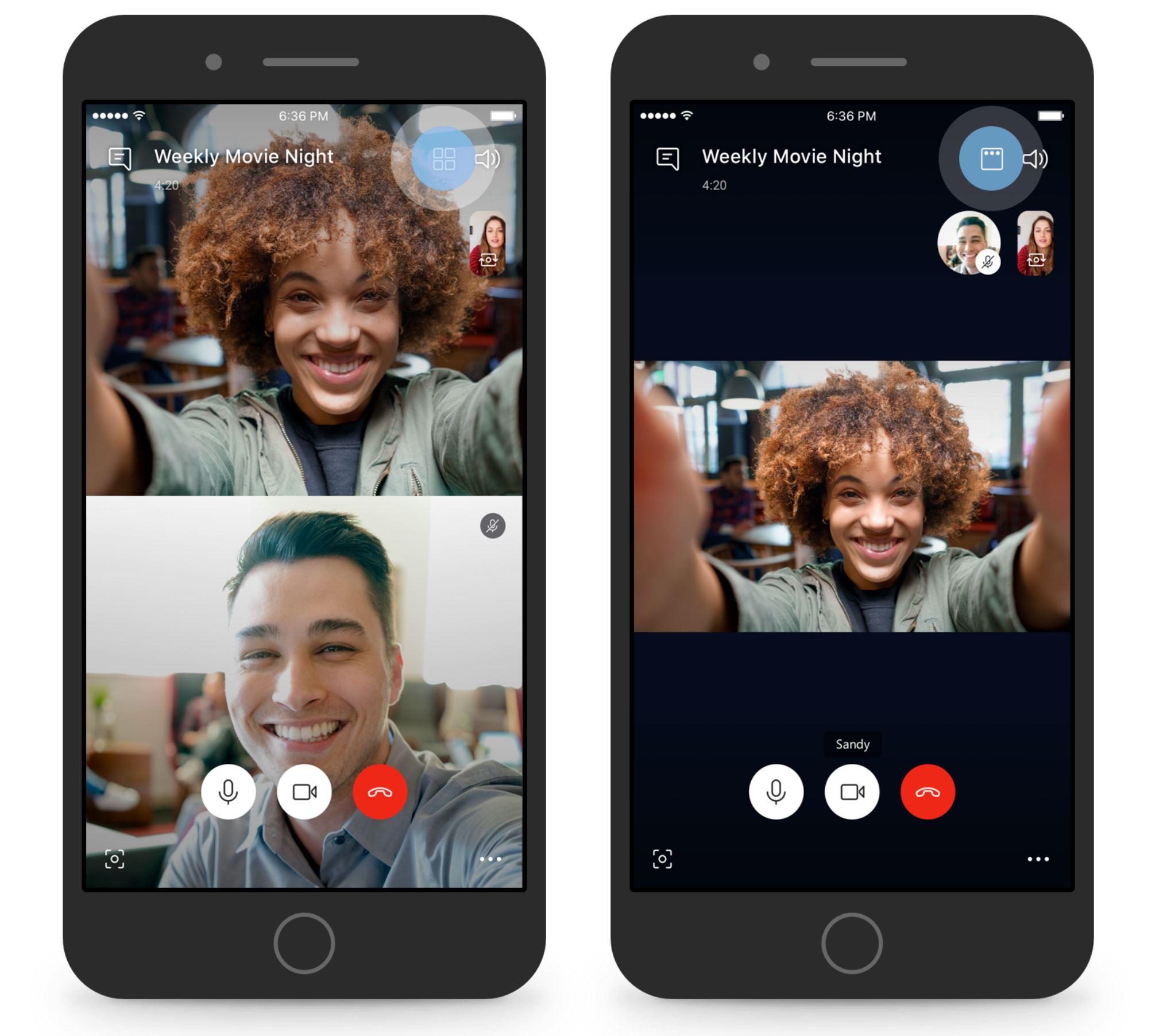 В Skype возвращаются ранее убранные функции