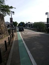 έξοδος προς την πόλη Shiga
