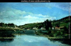 The-Marne-at-Chennevieres,-c.1864-65