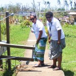 Relief outreach at Driti Village, Tailevu.