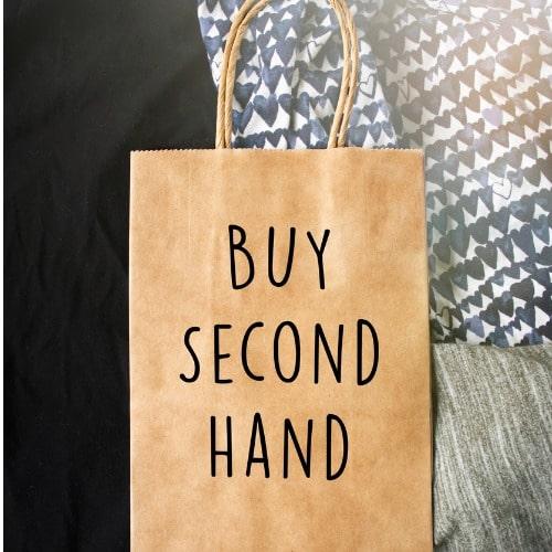 buy second hand