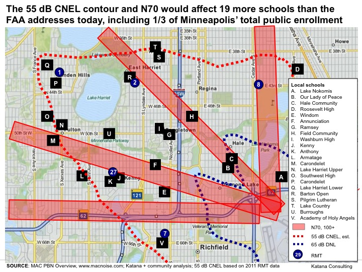 All SW Minneapolis students affected by RNAV