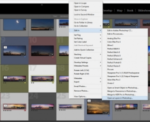 Export all HDR to Photoshop again