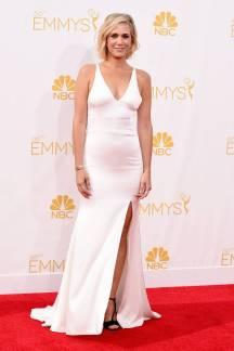 Kristen Wiig in Vera Wang // Image via Harper's Bazaar courtesy of Getty Images