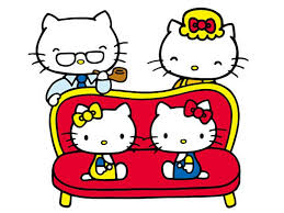 Hello Kitty & Family | Image Credit: Sanrio