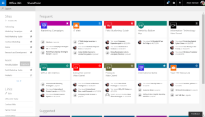 Microsoft announces new SharePoint home page and modern