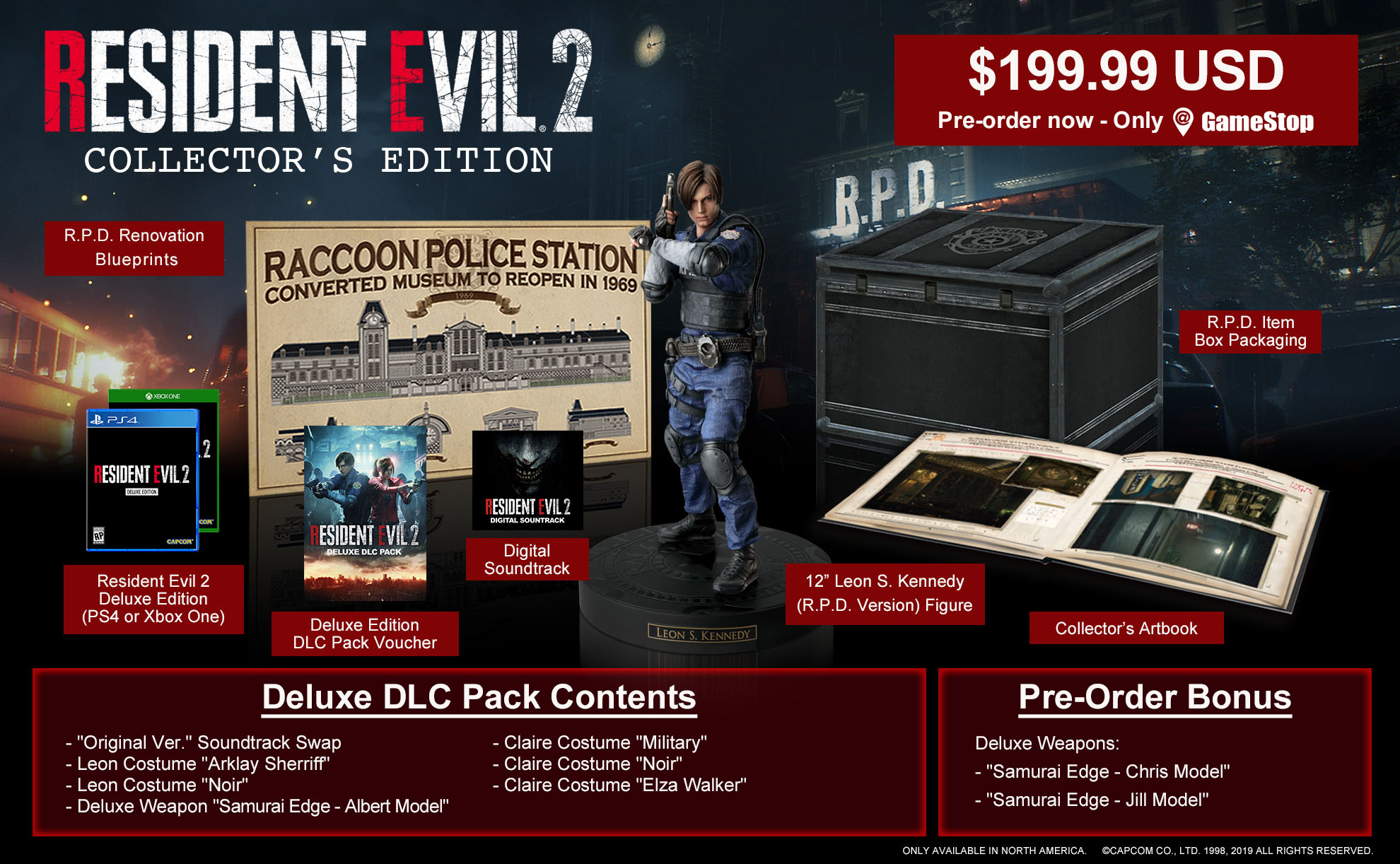 Resident Evil 2 Collectors Edition Revealed Up For Pre
