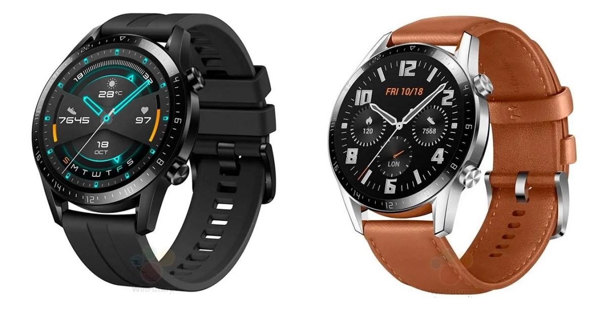 Renders of the upcoming Huawei Watch GT 2 leaked - MSPoweruser