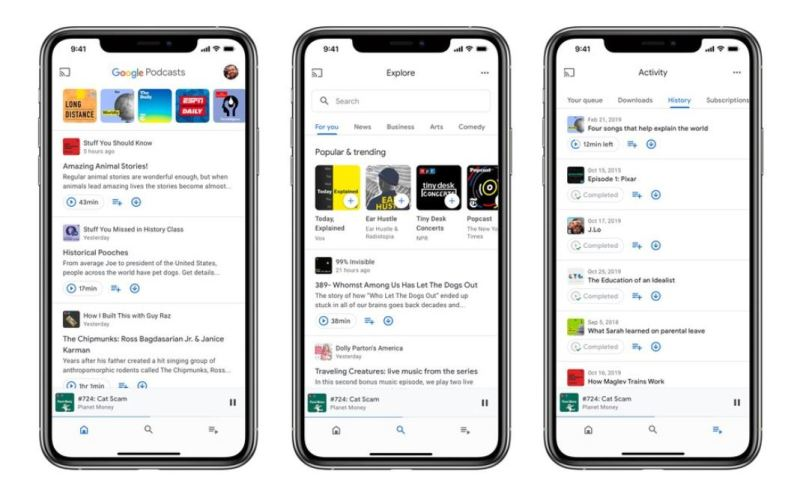 Google Podcasts app now available on App Store for iOS devices 1