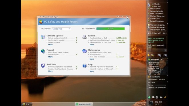 Microsoft, MySpace'den önce bile Longhorn'da yerleşik bir sosyal ağ hayal etti 14