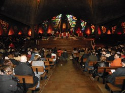 Interior Parroquia de Nuestra Señora de Guadalupe