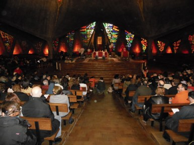 Interior Paroquia de Nuestra Señora de Guadalupe