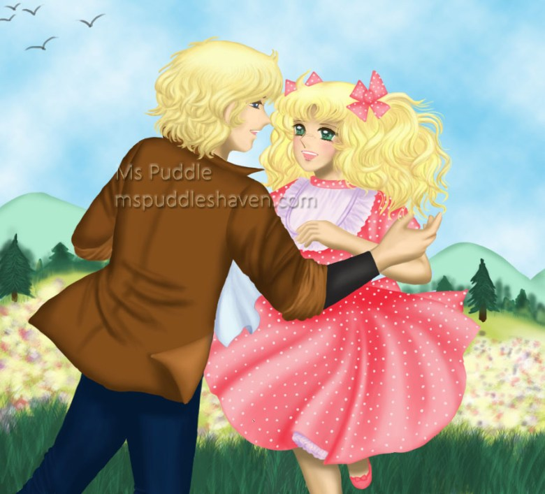 La ilustración está hecha específicamente para la versión en español de 'It Must Have Been Love' ('No sé si es amor'), muchas gracias a mi amiga, ¡Quevivacandy!