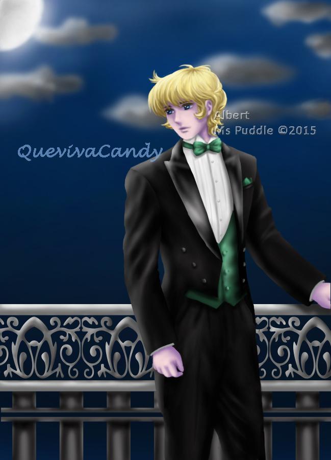 Albert in tuxedo