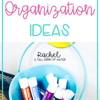 Easy Classroom Organization Ideas
