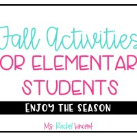 Fall Activities for Elementary Students