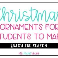 Kid Friendly Christmas Ornaments