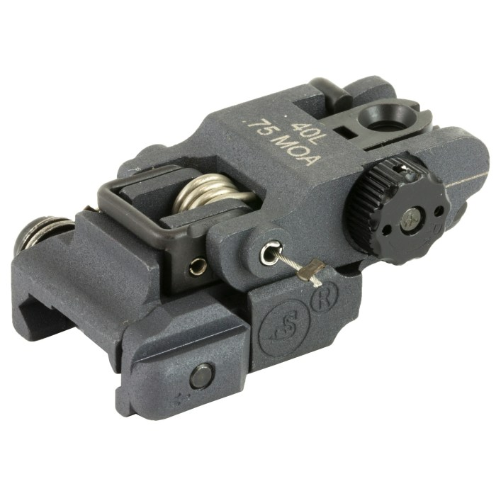 A.R.M.S. #40L Low Profile Rear Sight - MSR Arms 1