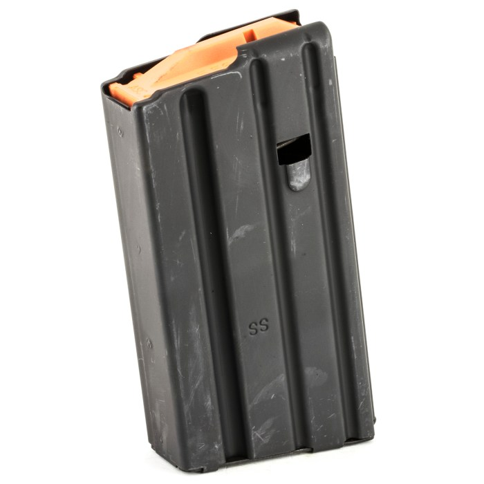 Ammunition Storage Components .223 Stainless Steel - 20 Rd Magazine - MSR Arms 1